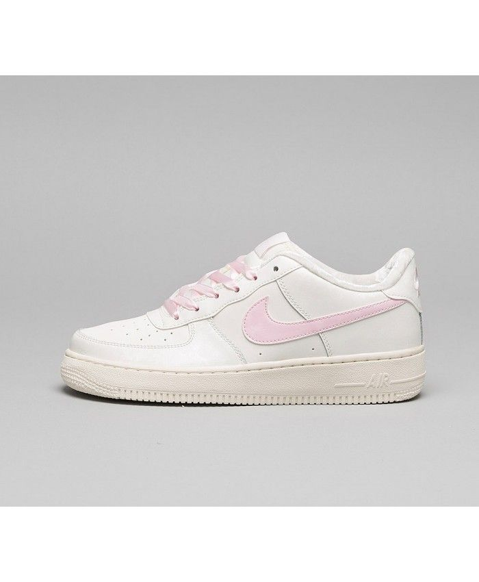 Nike Air Force 1 GS Chaussures Rose Blanc | Nike air force