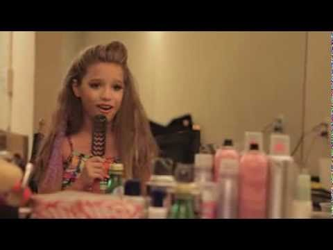Mackenzie Gets Caught Singing in the Dressing Room! . OMG!! that girl can sing<3 beautiful