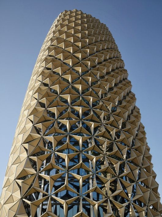 Shortlisted in the Office Category: Al Bahr in UAE by Aedas Ltd (Photo courtesy of World Architecture Festival)