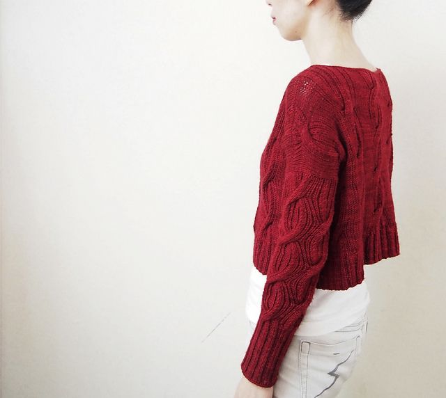 1108 best knitting cable images on pinterest cable cardigans akane pattern by eri fandeluxe Choice Image
