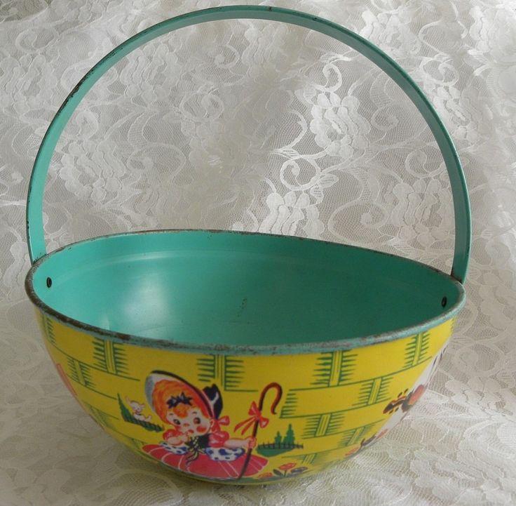 Vintage Easter basket
