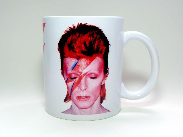 Caneca David Bowie Aladdin Sane Ziggy Stardust