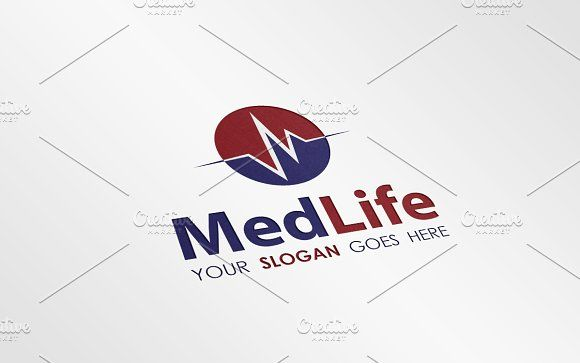 Medical Science Logo Template V.1 by JigsawLab on @creativemarket