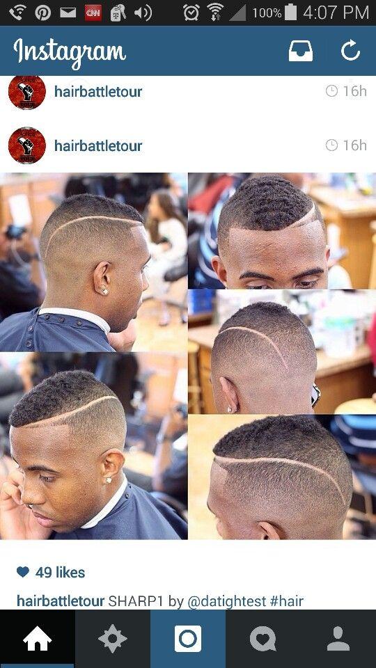 Dope cut from hairbattletour on instagram