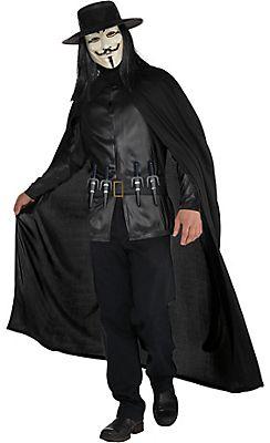 Adult V Costume - V for Vendetta
