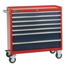 TS-468* Genius Tools 7 Drawer Roller Cabinet