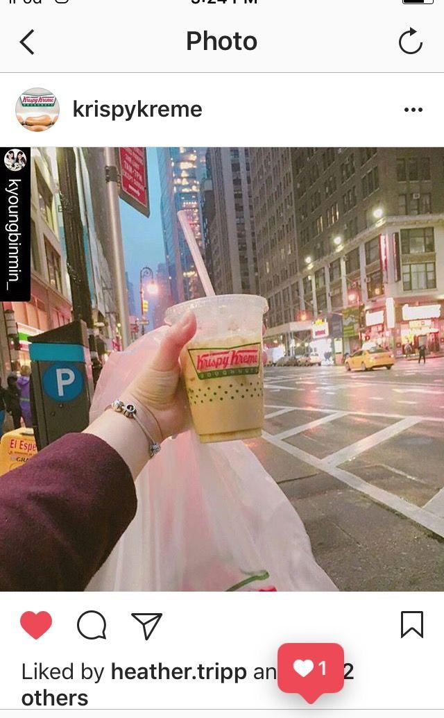 Krispy Kreme in NYC