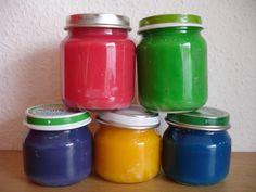 Koken met peuters 8: Eetbare vingerverf/ edible paint « missgefreubel