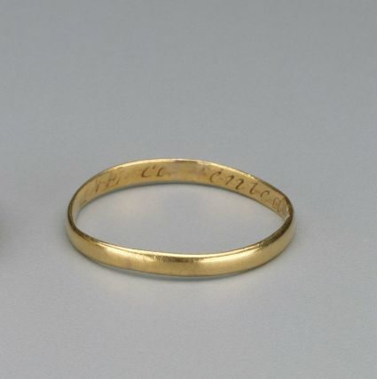 wedding ring 1773 museum of fine arts boston an artful wedding