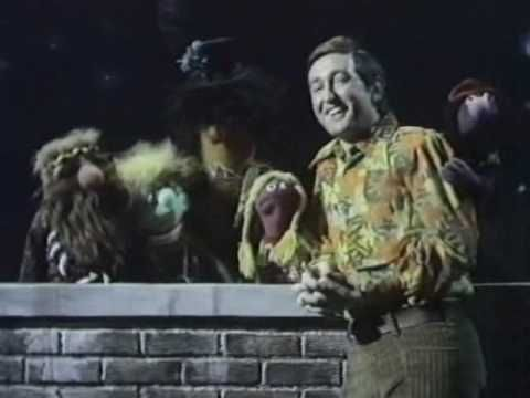 """Sesame Street ~ """"Good Morning Starshine. From 1969. Bob stays up all night with a group of hippie Muppets, and right before sunrise they sing this song from the musical """"Hair"""". This song was a hit for Oliver."""