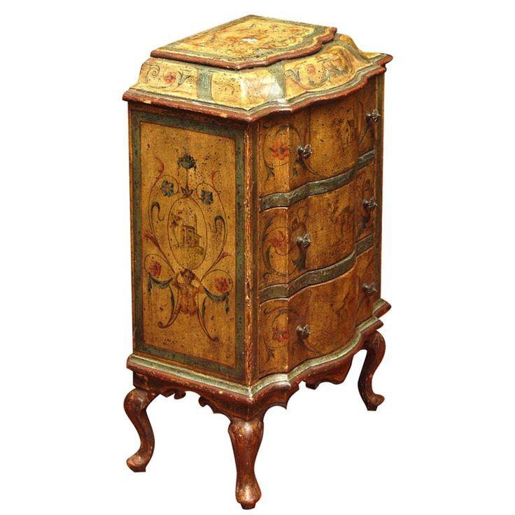 Мебель с росписью. Часть 2. Антикварные комоды 18-20 век - Ярмарка Мастеров - ручная работа, handmade