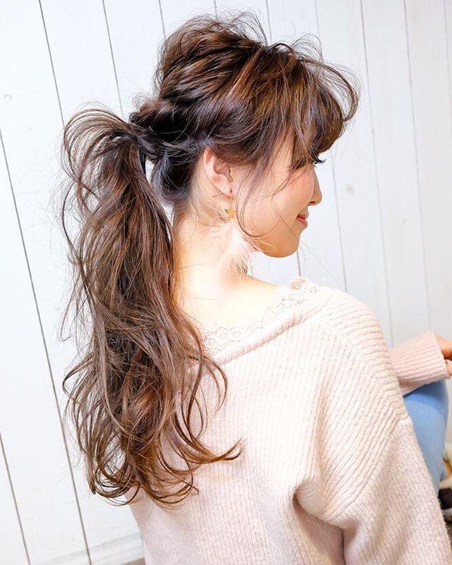 ロング髪型で艶感たっぷり みんなが憧れるおしゃれなヘアスタイル特集