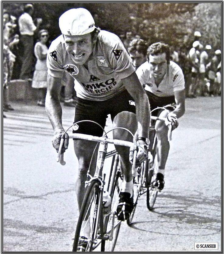 https://flic.kr/p/Cd9M3K | Le Blaireau ne s'amuse pas derrière (Alpe d'Huez 1979) #JoopZOETEMELK #BernardHINAULT #Cyclisme #Tour79 #TourdeFrance