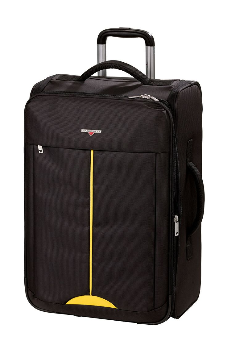 Hardware Lightweight II Trolley M, 2 Rollen, Faltbar Black/Yellow