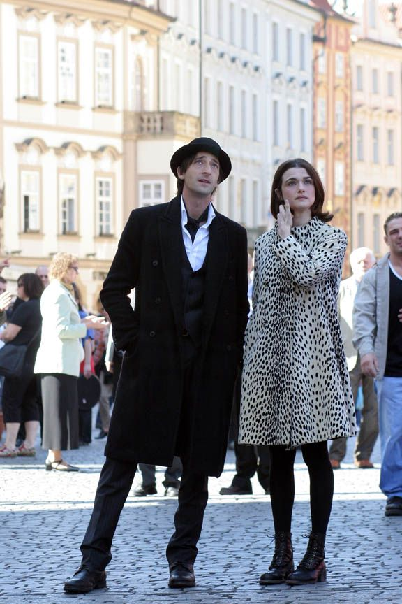 Adrien Brody and Rachel Weisz in the scene of The Brothers Bloom. Summit Entertainment