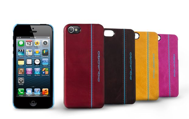 Blue Square iPhone 5 cover