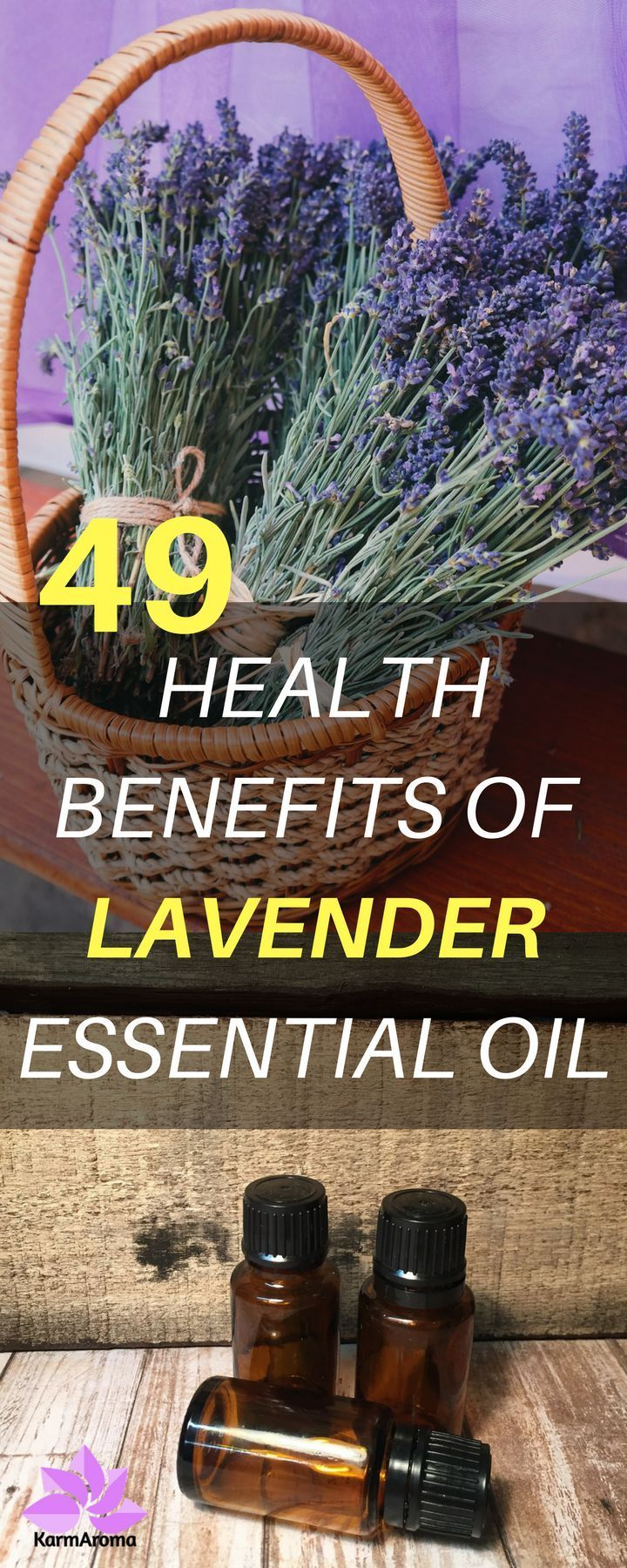 Are you looking for best ways to use lavender essential oil? You will be amazed how much you could get health benefits by applying lavender oil. Read this 49 Amazing Health Benefits of Lavender Essential Oil.