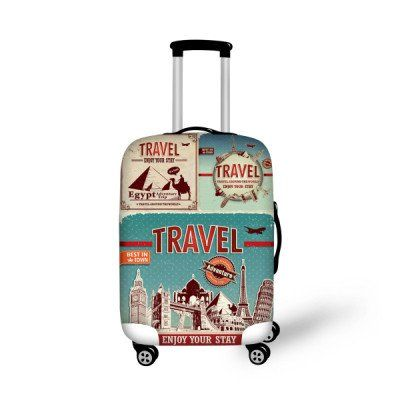 Fashion Luggage Cover Enjoy your Stay - FREE SHIPPING!
