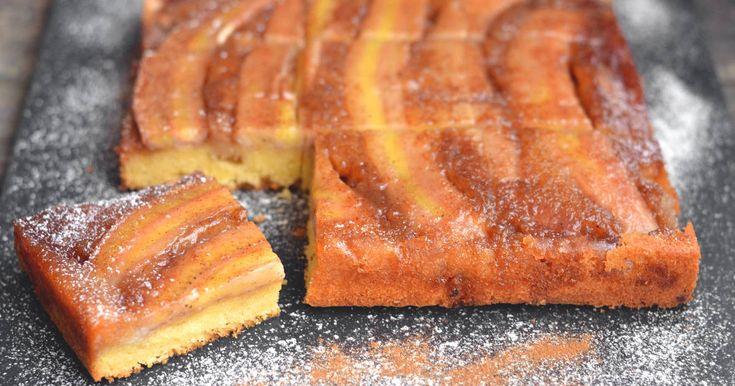Fordított banános karamelles süti | Nor receptje - Cookpad