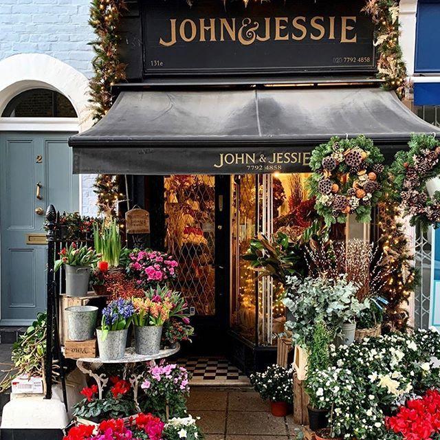 The Flower Shopkeepers On Instagram John Jessie London Flower Shop Interiors Flower Shop Display Flower Shop Design