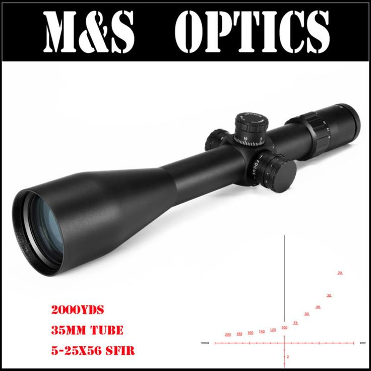 MARCOOL ALT ZA3 5-25X56 SF IR 35MM Tube Red Iluminated Hunting Tactical Gun Scopes Optics Sight Riflescopes For Rifles