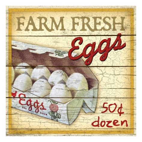 Love egg signs...my girls eggs are worth LOTS more! Not that we sell any! lol