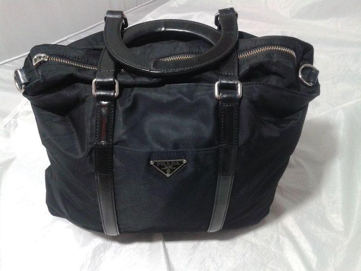 PRADA Tessuto Nylon & Leather Tote~ AS IS #Prada #HandbagTote