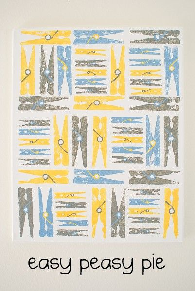 Make Clothespin Art Prints