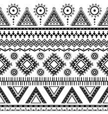 aztec pattern - Google Search - links to lots of images - coloured and BW