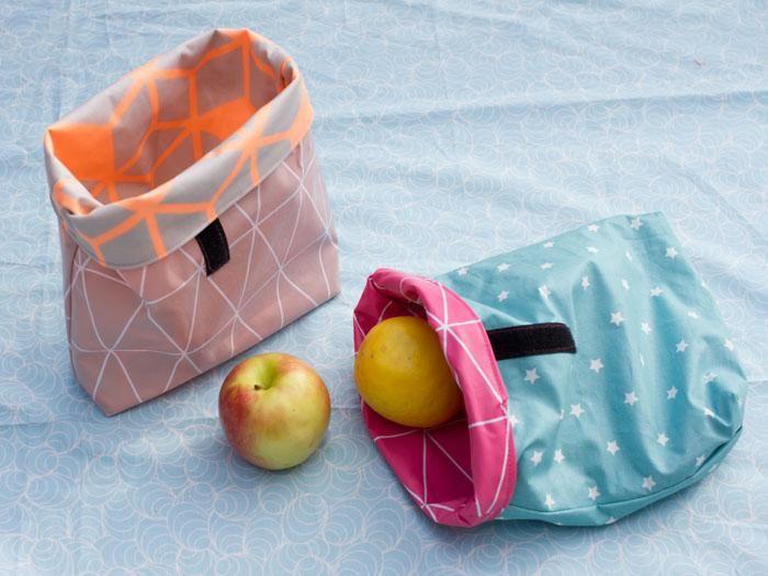DIY: Comment coudre un lunchbox en toile cirée