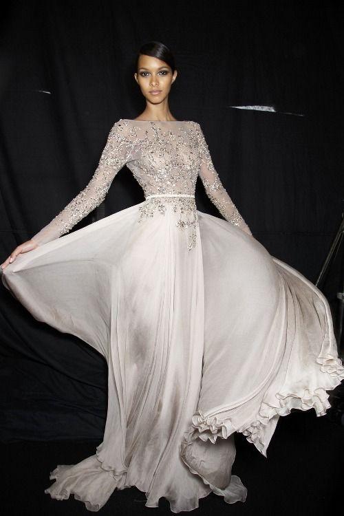Pin by nil ipek on stunning pinterest elie saab bridal for Elie saab blush wedding dress