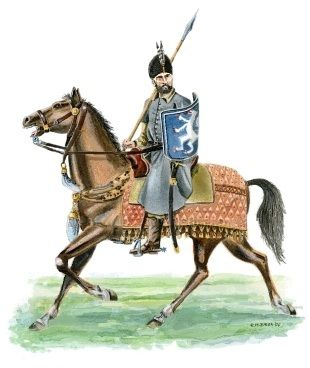 Wallachian cavalryman, 16th century