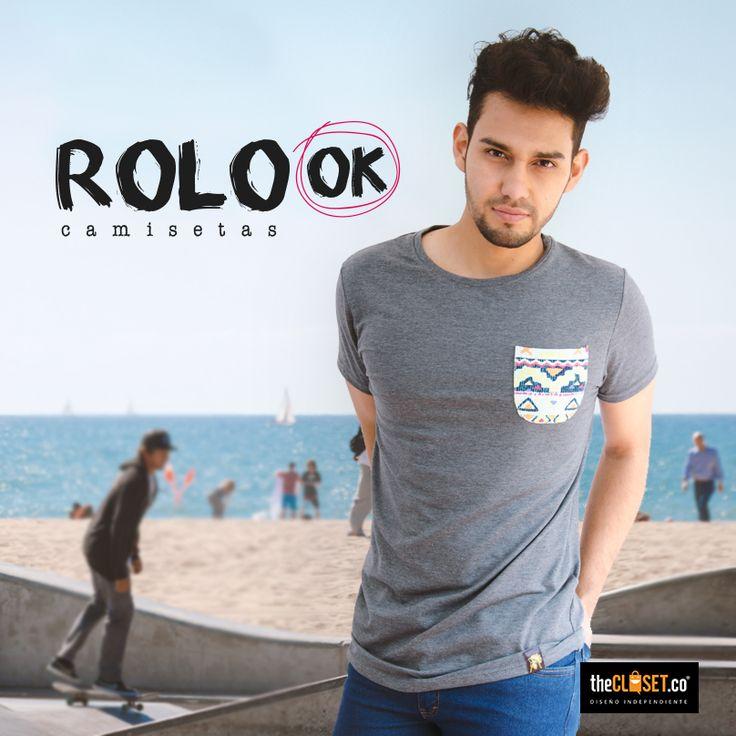 Empieza el fin de semana y nosotros ya preparados, encuentra camisetas de Rolo-ok Camisetas en nuestra boutique TheCloset.co Store K7 # 54a - 18 L-3 #Bogotá #DiseñoIndependiente