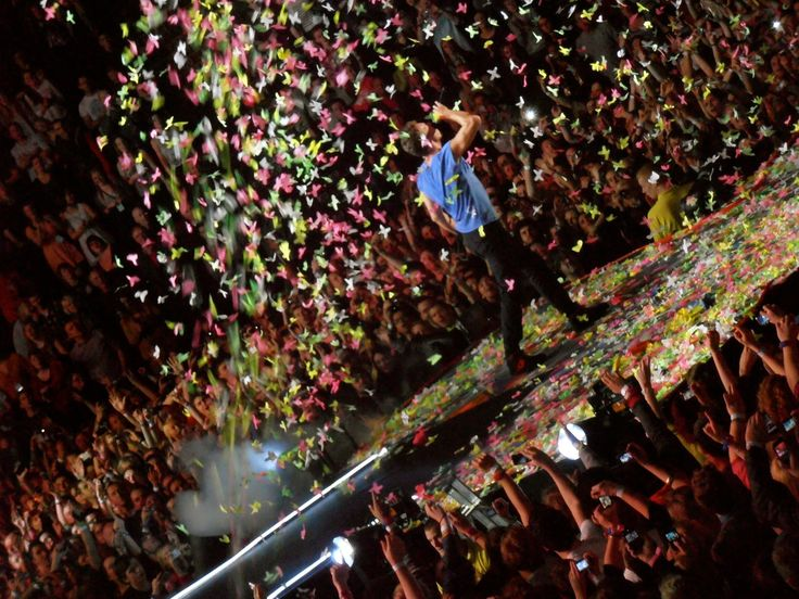 Mylo Xyloto World Tour #Coldplay Manchester, 2011 #music