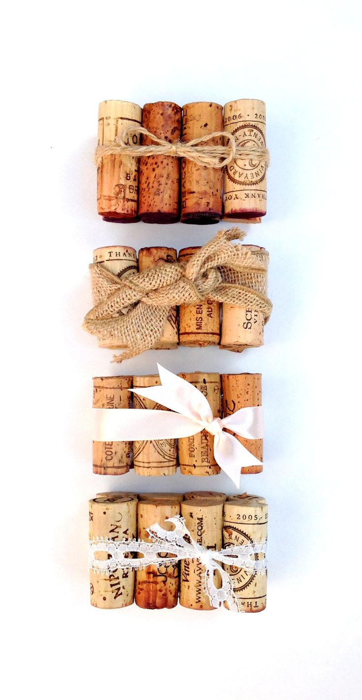 Rustic Winery Wedding Table Number Holders