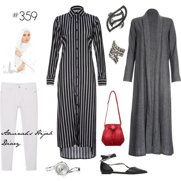 Pinstripes and Hijab More
