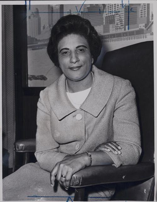 Constance Baker Motley (1921-2005)  -Wrote the original complaint for Brown v. Board of Education  -The first African-American woman to argue a case before the US Supreme Court  -The first African-American woman elected to the NY State Senate  -The first female Manhattan Borough President  -The first female African-American district court judge