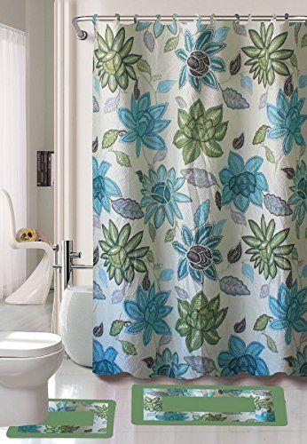 Gorgeous Home 1 Shower Curtain 12 Fabric Hooks And A Set Https Www Amazon Com Dp B01f0fxgwi Ref Cm Sw R Pi Dp X Eh Bathroom Sets Bath Rugs Shower Curtain