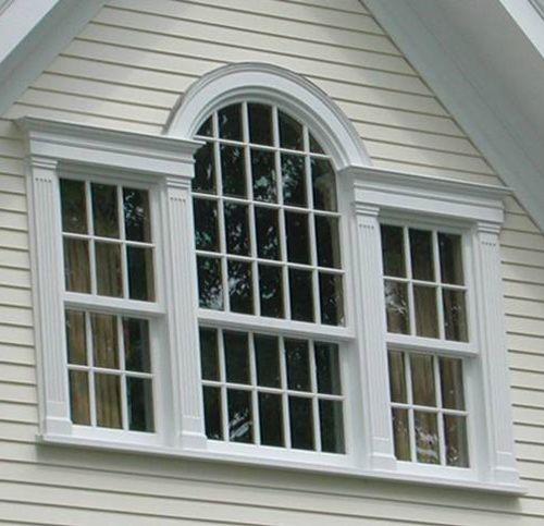 palladian window | Palladian windows are often called Palladium windows, which is wrong.