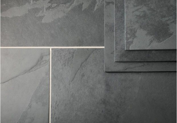 Black Farmhouse Flagstones Tiles