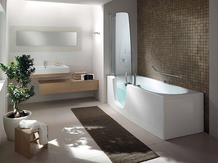 Oltre 1000 idee su vasca da bagno doccia su pinterest - Muffa piastrelle doccia ...