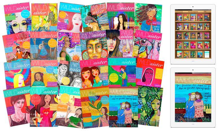 The Wild Sister HUGE B-School Bonus!   Over $1,000 worth of e-magazines, e-courses, mentoring + more.