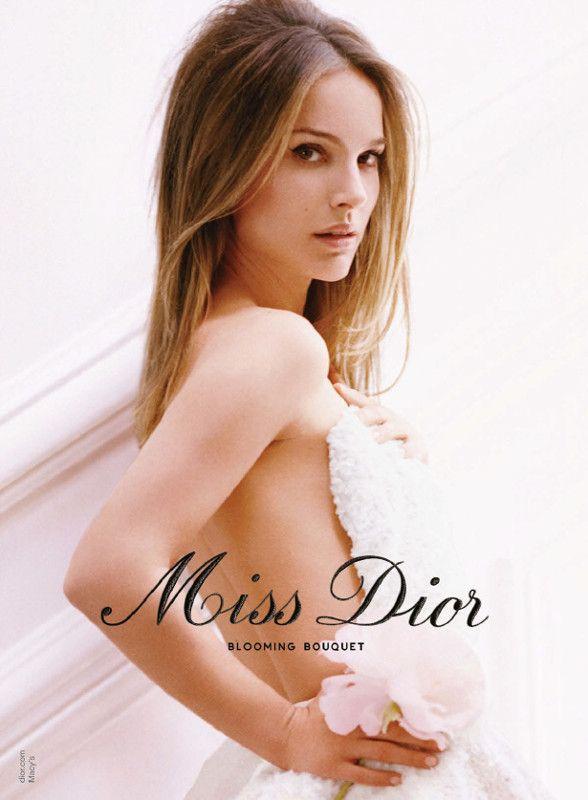 Miss Dior Blooming Bouquet par Christian Dior / Nathalie Portman par Tim Walker
