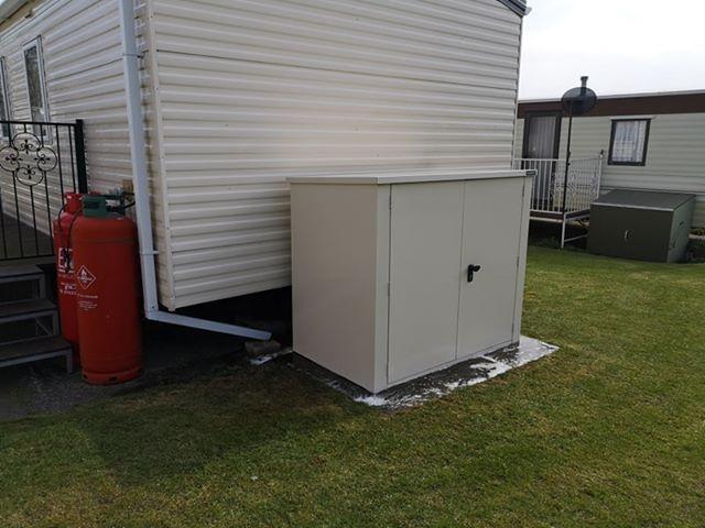 5x3 Secure Metal Shed 3 Point Locking Metal Shed Shed Caravan Storage