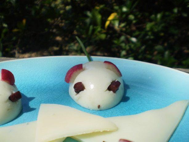 Hard-Boiled Egg Mice Recipe - Food.com