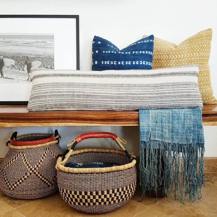 texture and textile love!! Such a fun mix of colors as well!