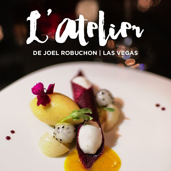 L'Atelier de Joel Robuchon Las Vegas - MGM Restaurants. $50 pre-theater menu for an entree and a roast of the day. Between 5-6pm