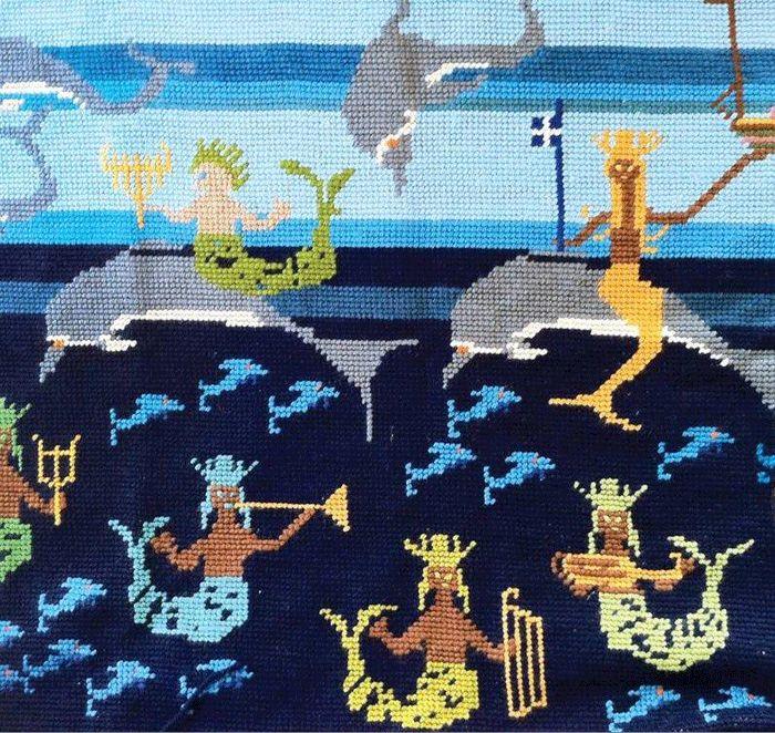 Η gallery genesis παρουσιάζει την έκθεση της Μαίρης Γαλάνη Κρητικού με τίτλο «Κλωστές»
