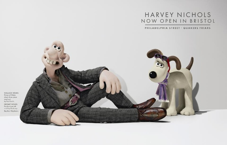 This campaign for Harvey Nichols by DDB London won multiple D Awards in 2009.
