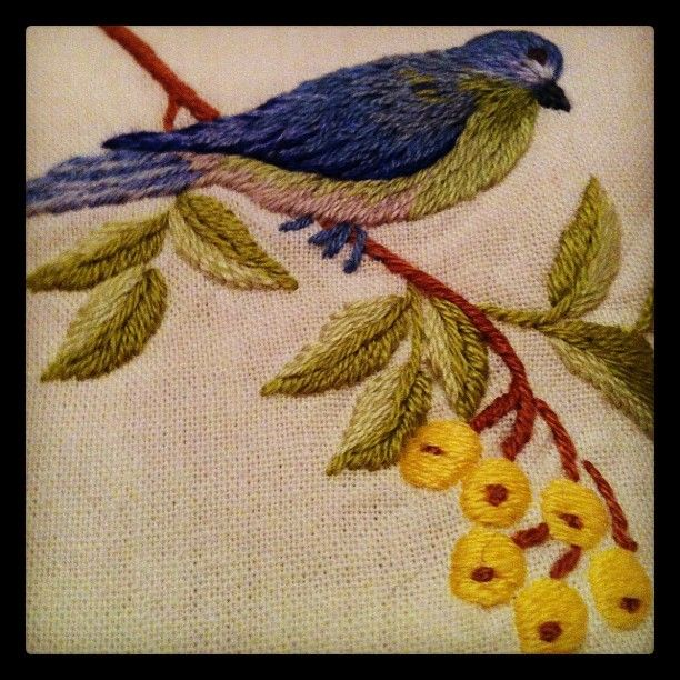 And the pretty things here, stitched by hand!